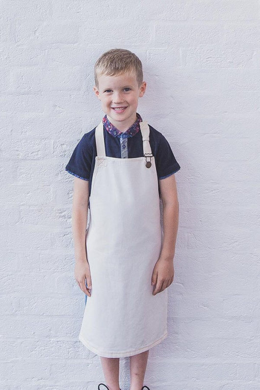 Custom Fisher apron